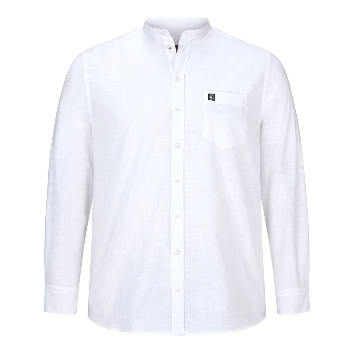 Chemise à col montant KALLU