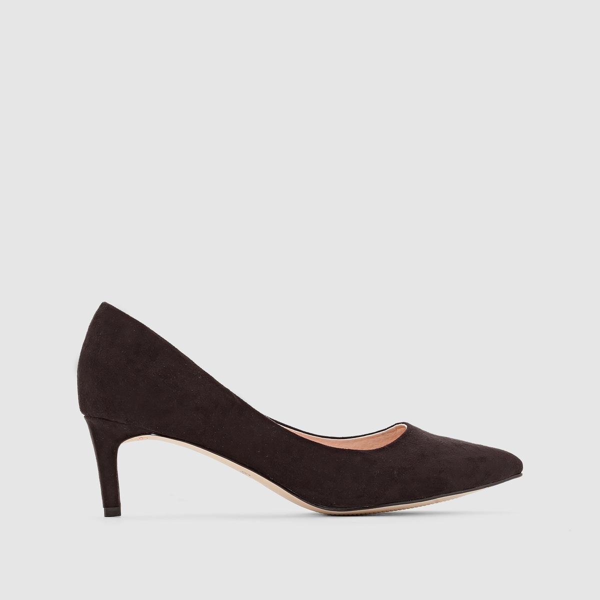 Туфли на низком каблуке от La Redoute