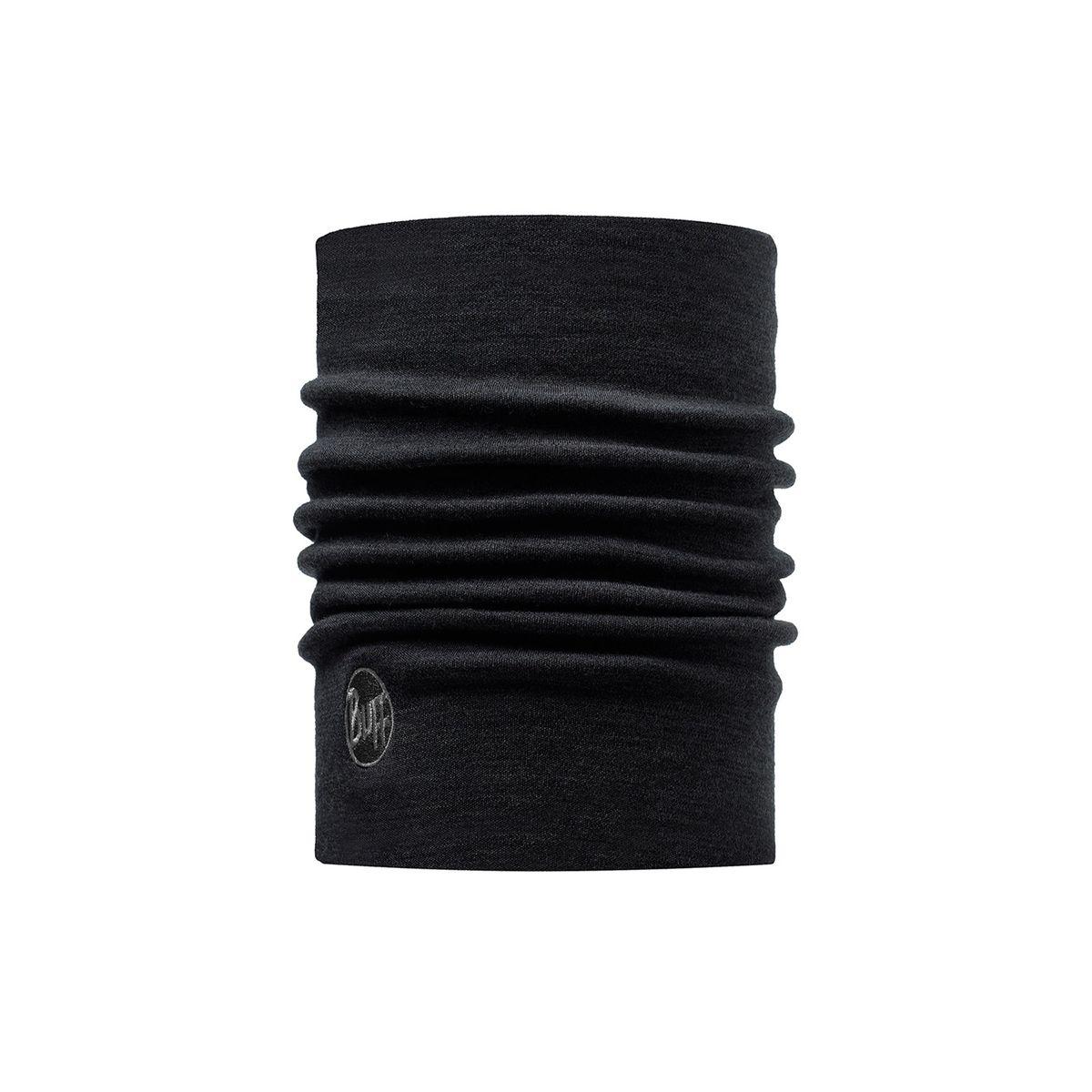 Heavyweight Merino Wool - Foulard - noir