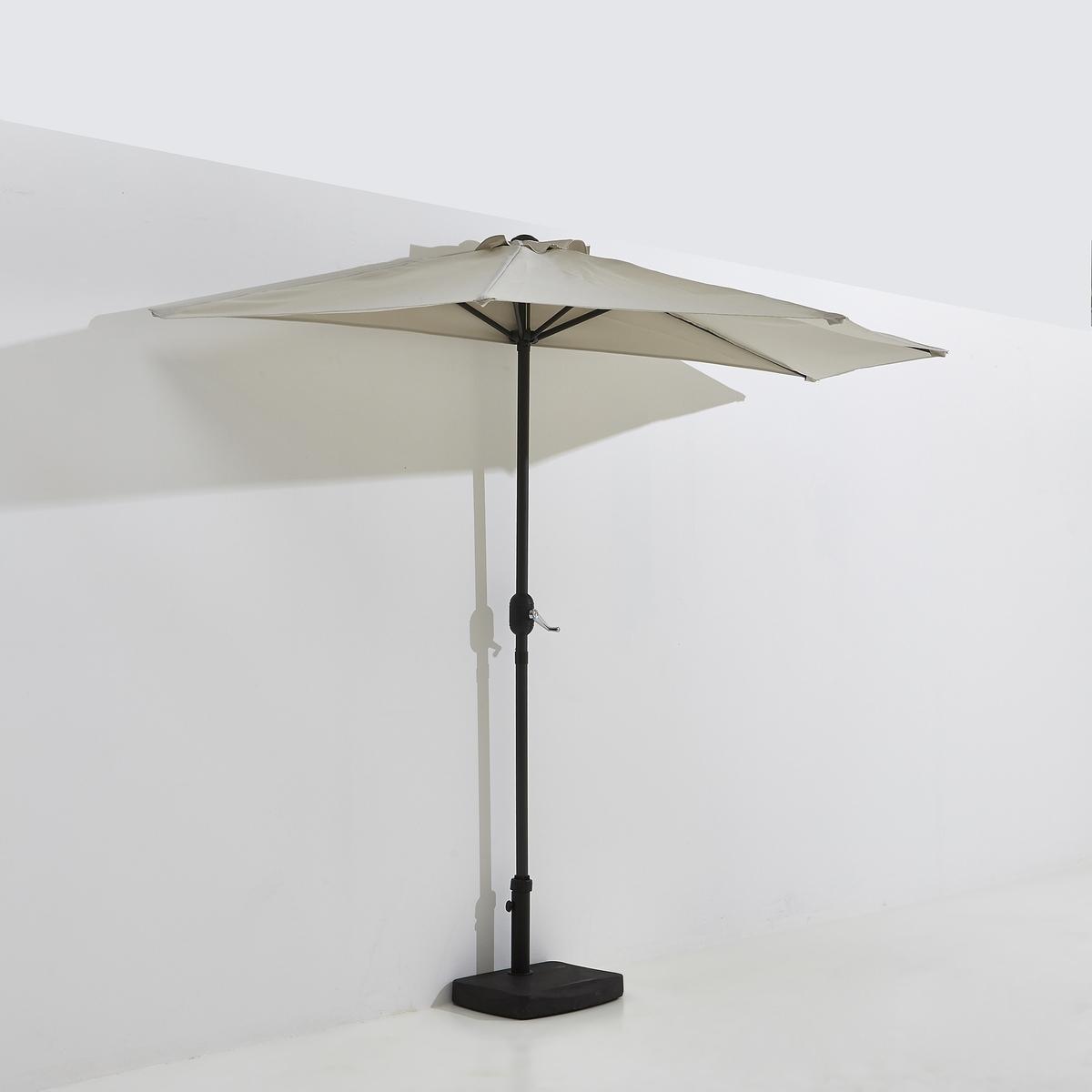Зонт солнечный для балконаЭлегантный зонт для балкона и террасы .Описание зонта солнечного для балкона :Металлическая ножка в виде T Характеристики солнечного зонта для балкона  :Каркас из алюминия .5 спиц из алюминия Ткань из полиэстера Металлическая трубка Размер солнечного зонта :Верхушка ? 27 мм Секции спиц 12 x 18 мм Размеры и вес коробки :1 упаковка150 x 14 x 14 см, 4 кгДоставка :Солнечный зонт продается готовым к сборке . Возможна доставка до квартиры !! .<br><br>Цвет: бежевый<br>Размер: единый размер