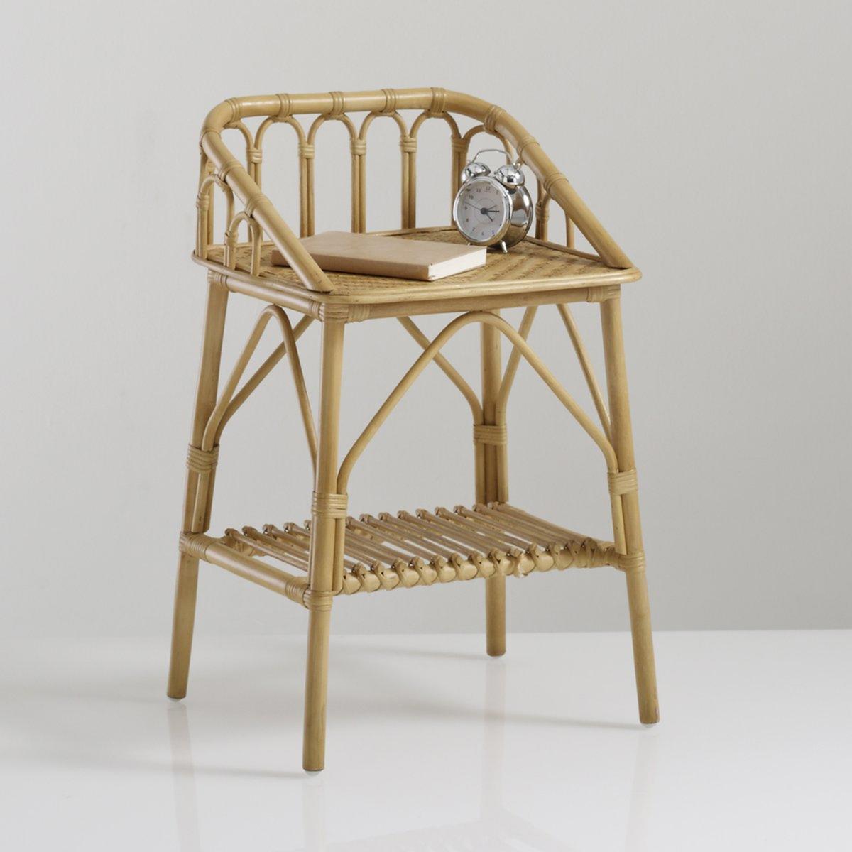"""Nachttisch """"Malu"""", Vintage-Style, Rattan"""