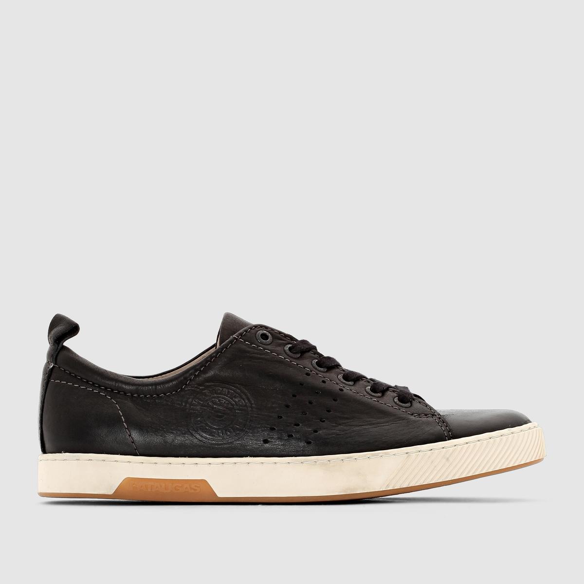 Кеды низкие, MATTEI - PATAUGASЗастежка: на шнуровке.Преимущества: простота и стиль кожаных кед от Pataugas.<br><br>Цвет: черный<br>Размер: 42
