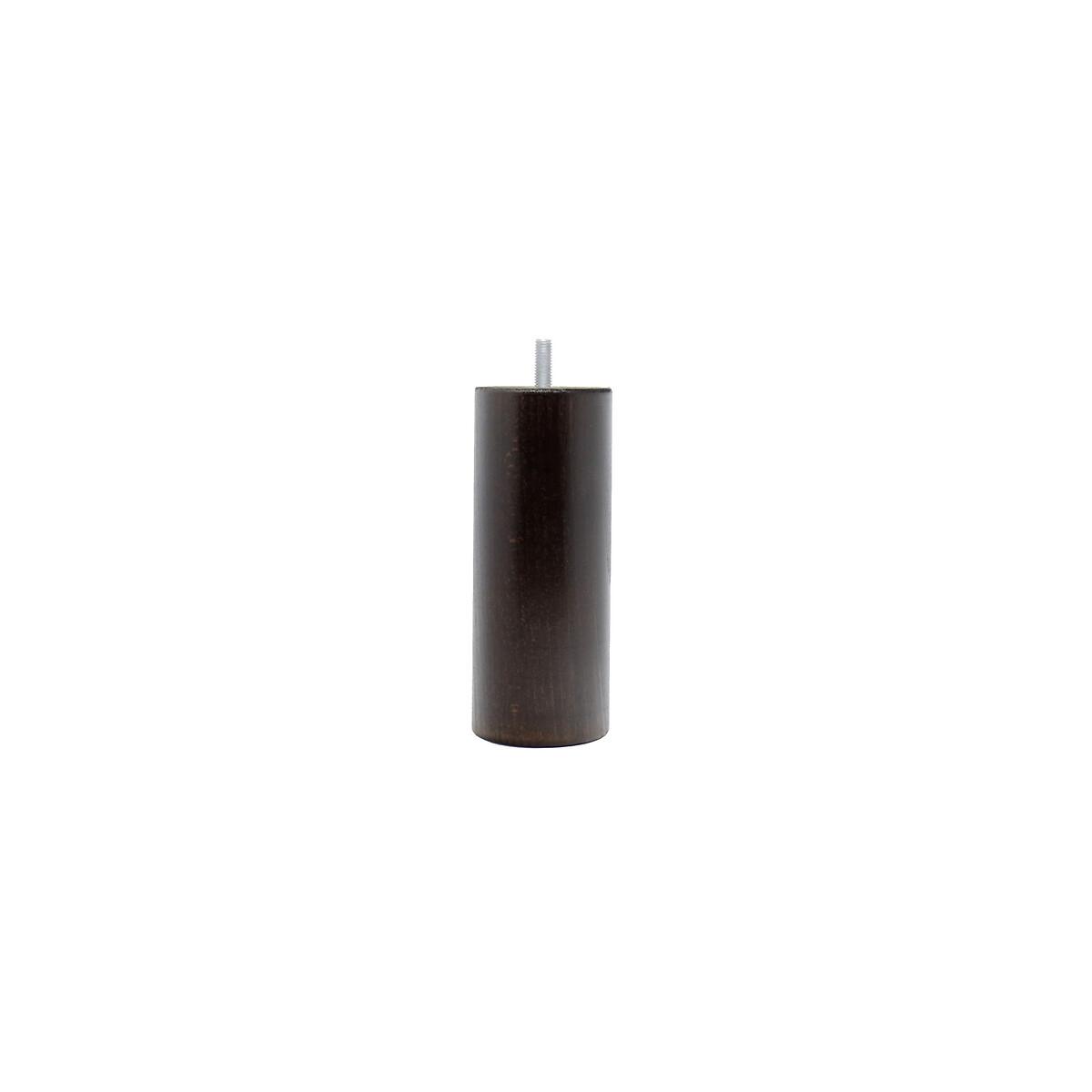 Набор LaRedoute Из 4 ножек для кроватного основания цилиндрической формы высота 15 см единый размер черный основания для кроватей