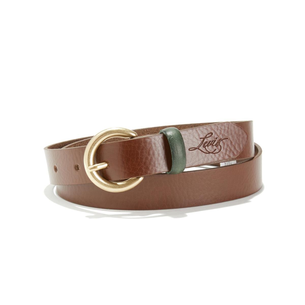 Cinturón de piel Larkspur
