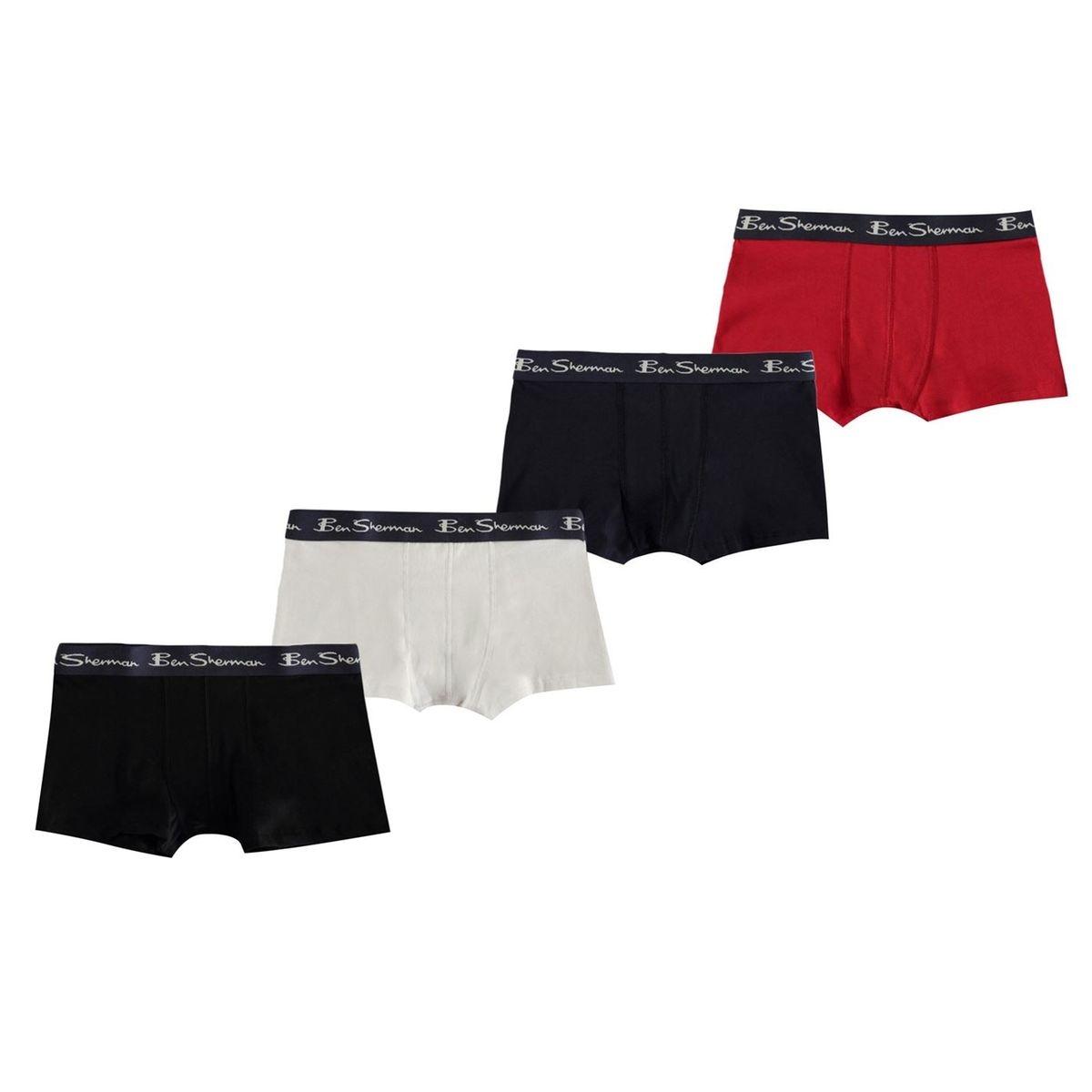 Boxers lot de 4
