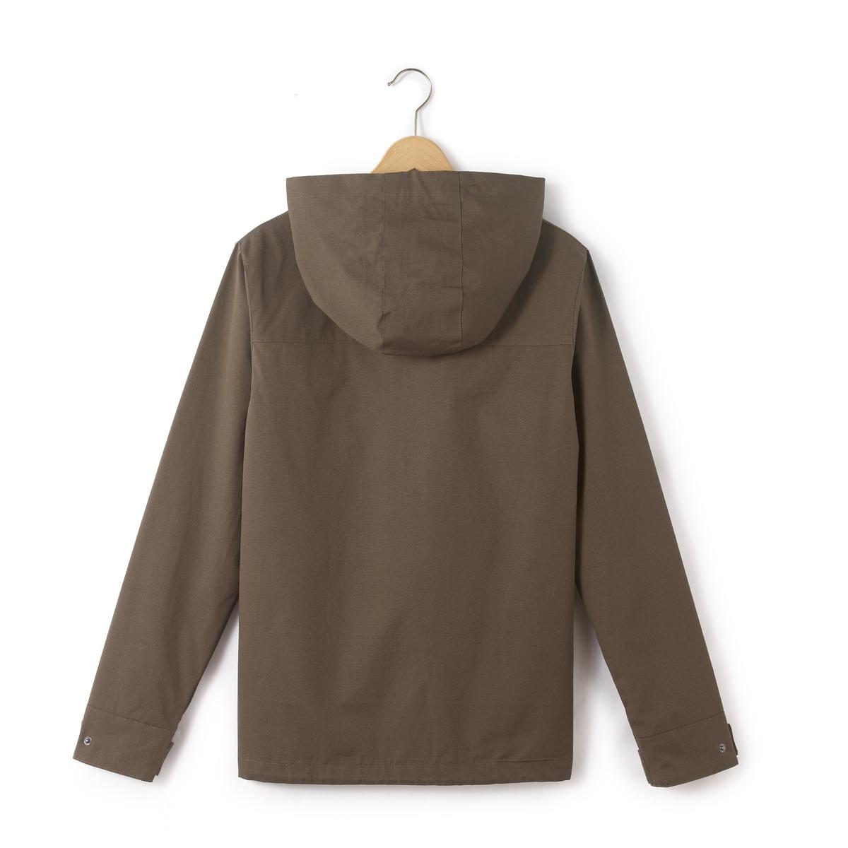 Ветровка с капюшоном 10 - 16 летВетровка-куртка с капюшоном  . Длинные рукава. Застежка на молнию. Состав и описание : Материал       100% хлопокМарка       R pop Уход : Машинная стирка при 40 °С с вещами схожих цветовСтирать и гладить с изнаночной стороныМашинная сушка в умеренном режимеГладить при низкой температуре<br><br>Цвет: хаки<br>Размер: 10 лет - 138 см.14 лет