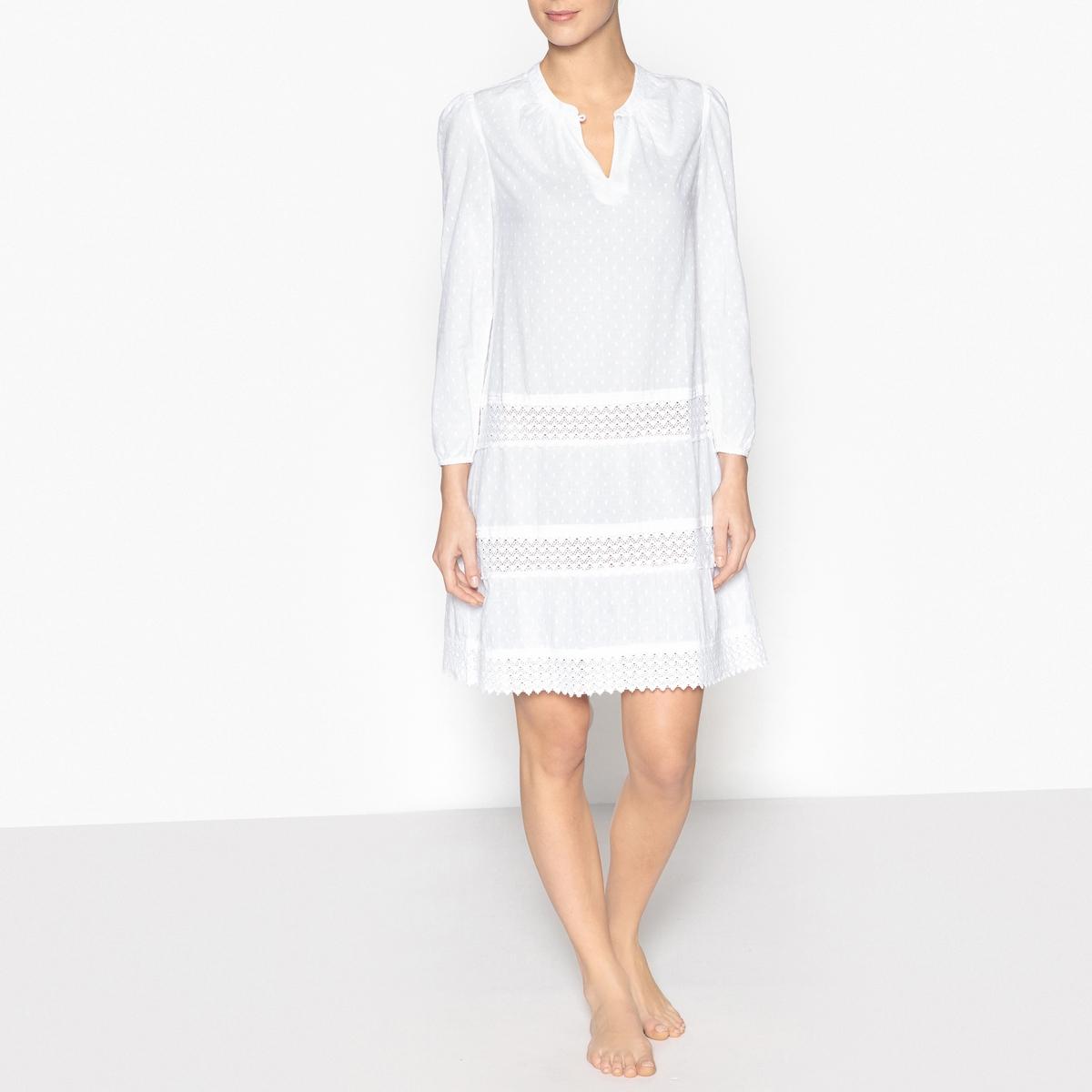 Сорочка ночная с вышивкой