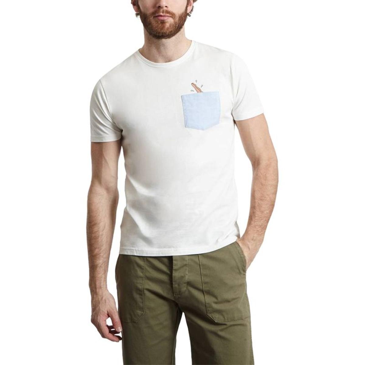 T-shirt Poche Dive