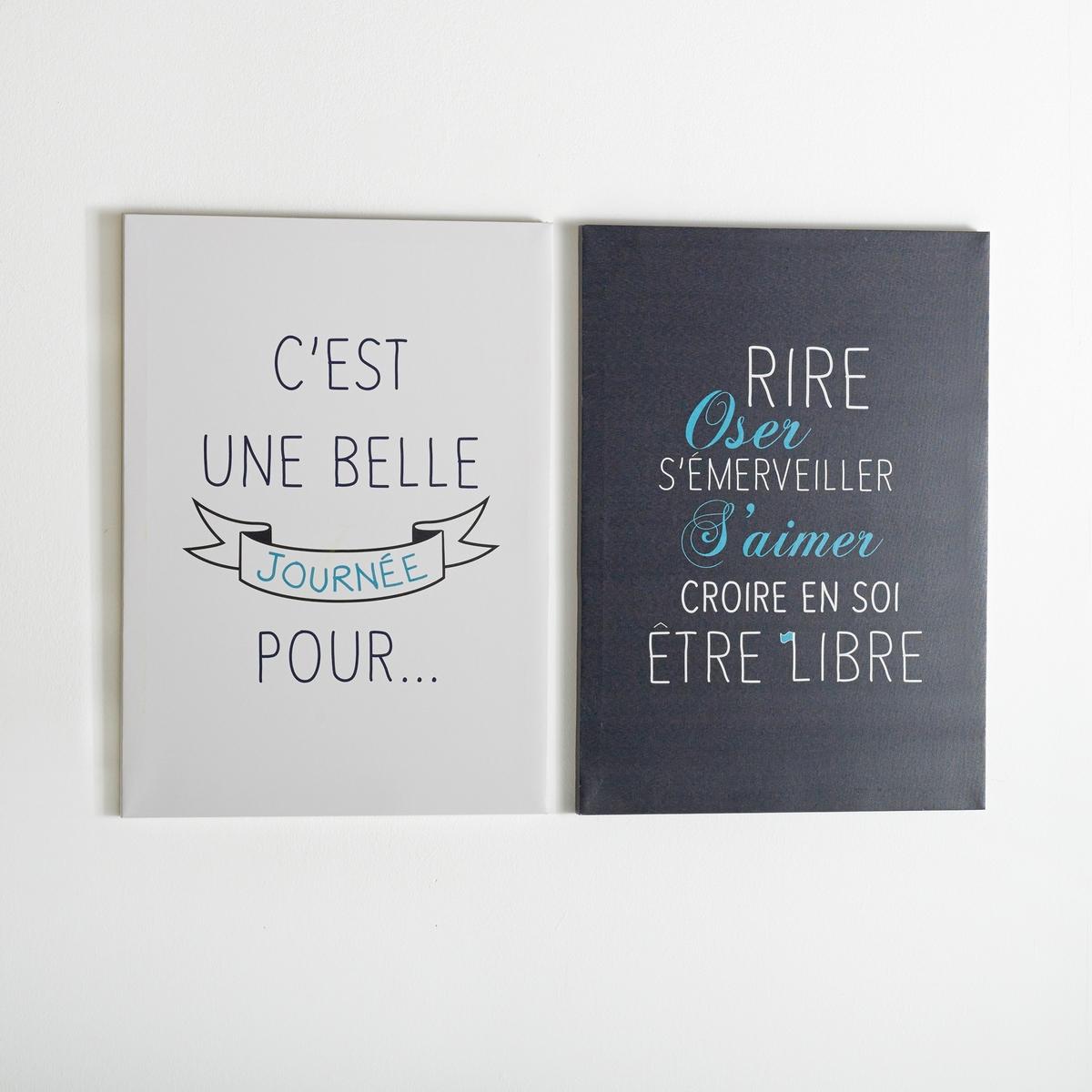 2 картины, автор - Escripto от La Redoute