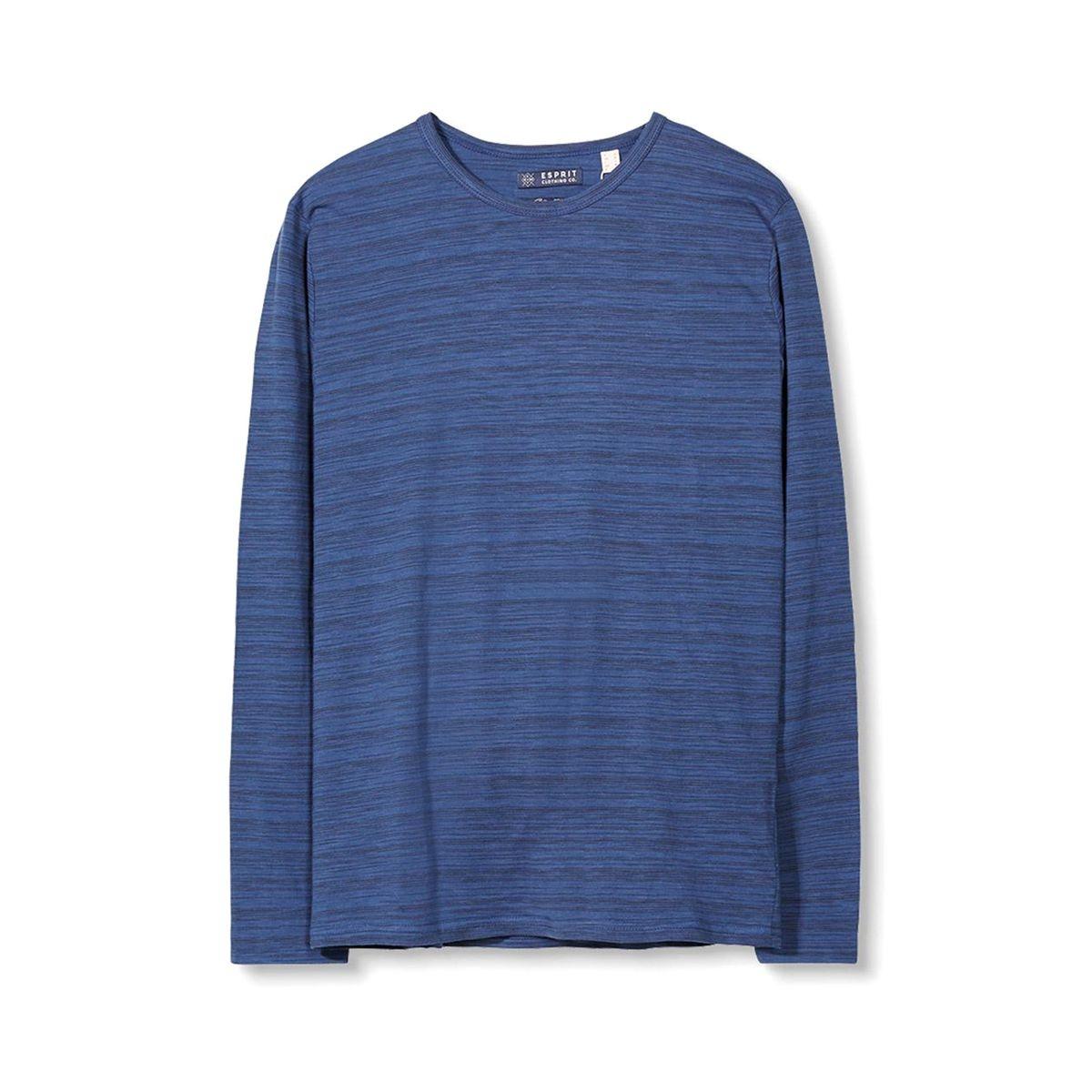 T-shirt rayé col rond