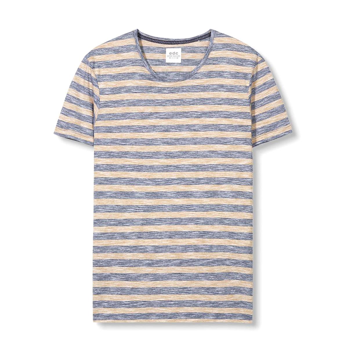 Футболка с меланжевым эффектом в полоску футболка esprit hc3703fc