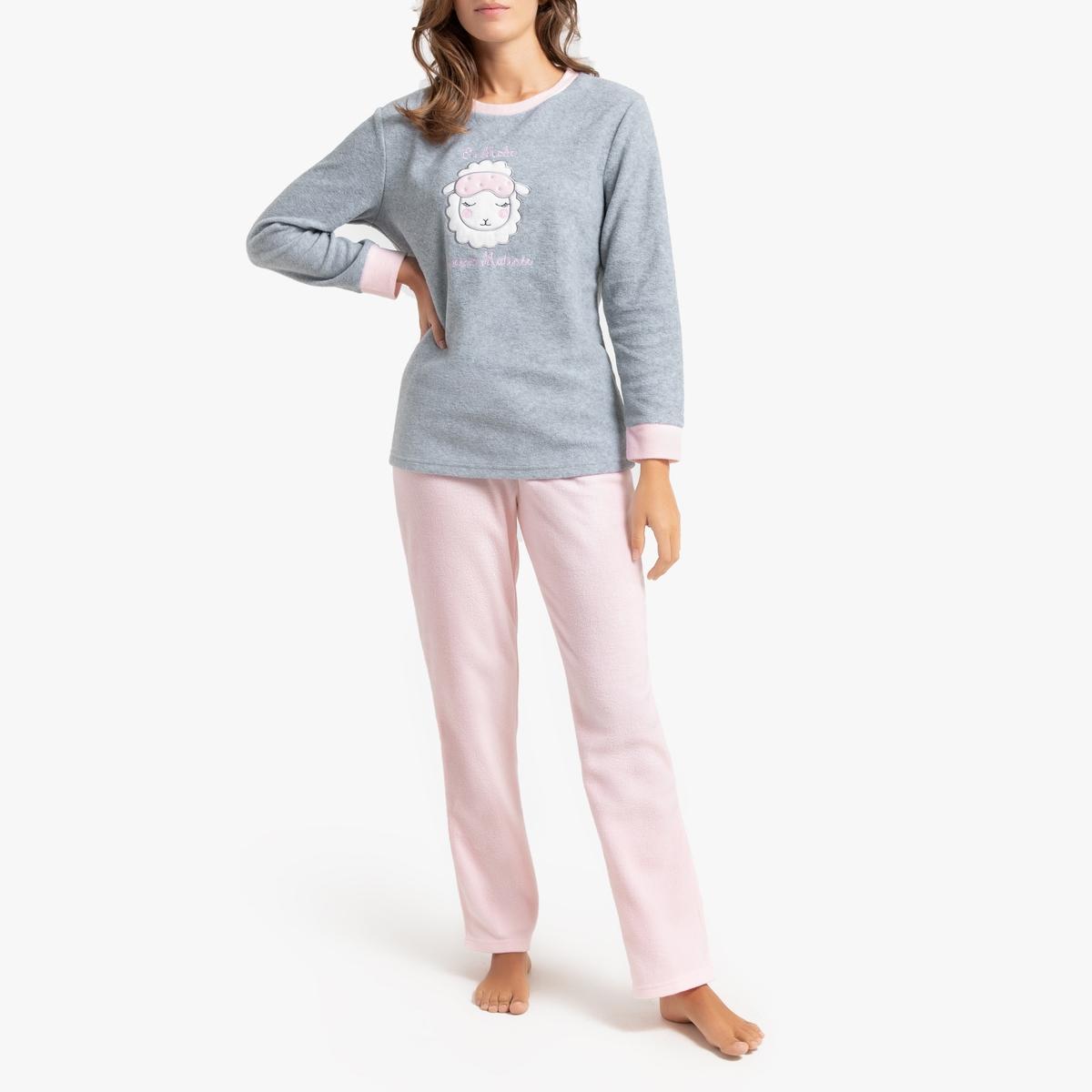Pijama en tejido micropolar
