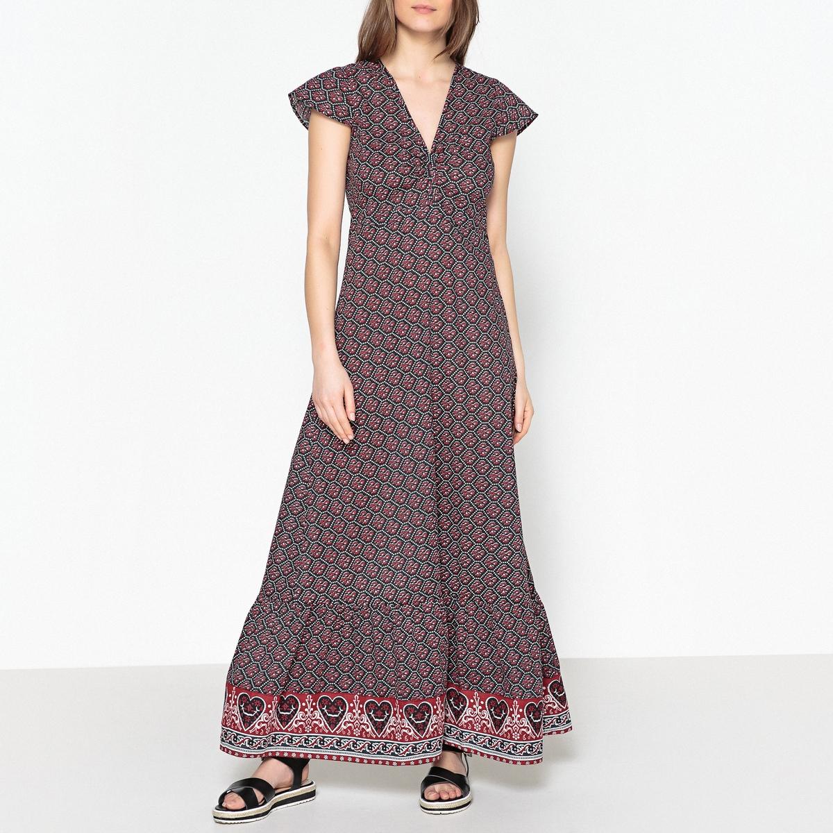 Платье с цветочным принтом - VALOU COTTON VOILE