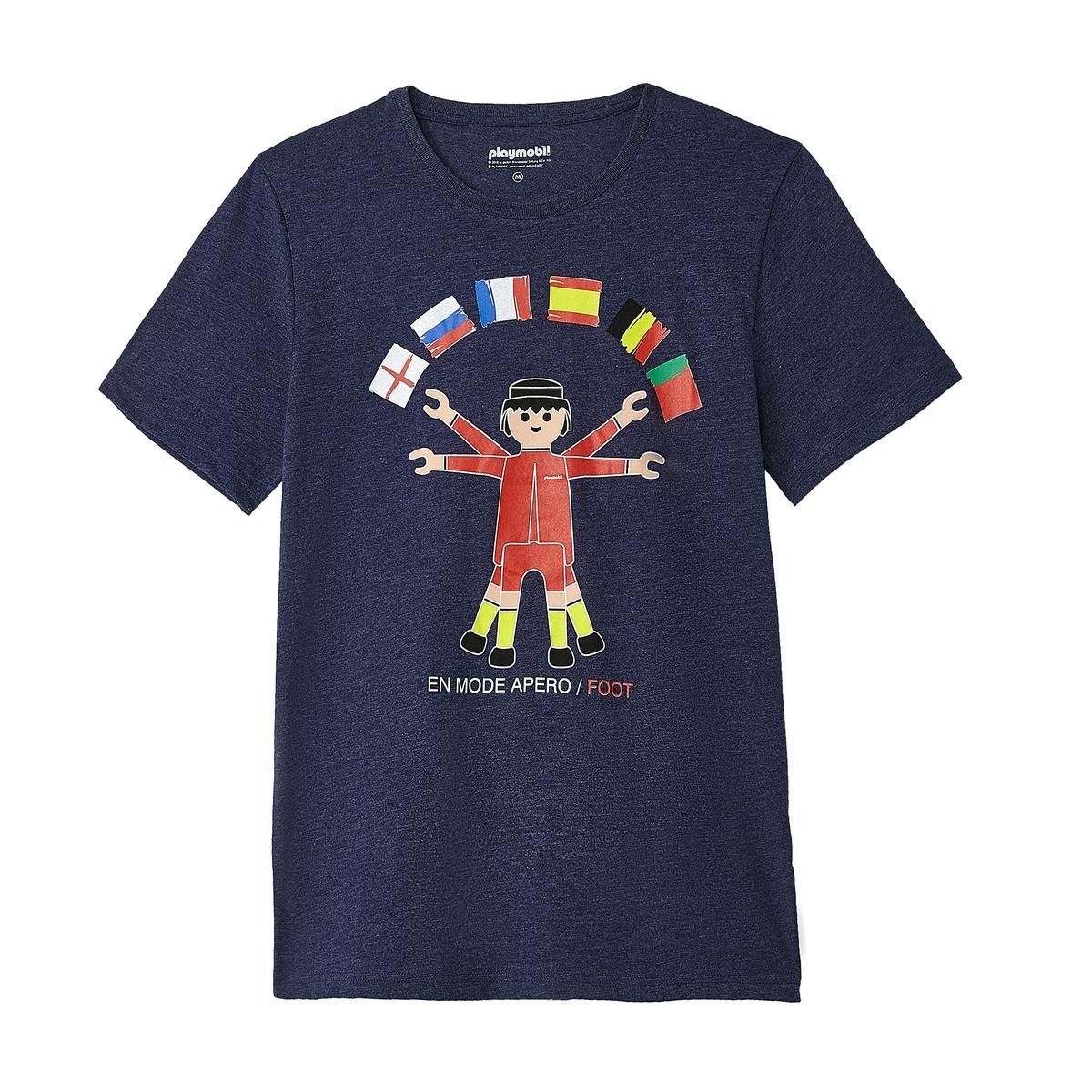 T-shirt de gola redonda PLAYMOBIL