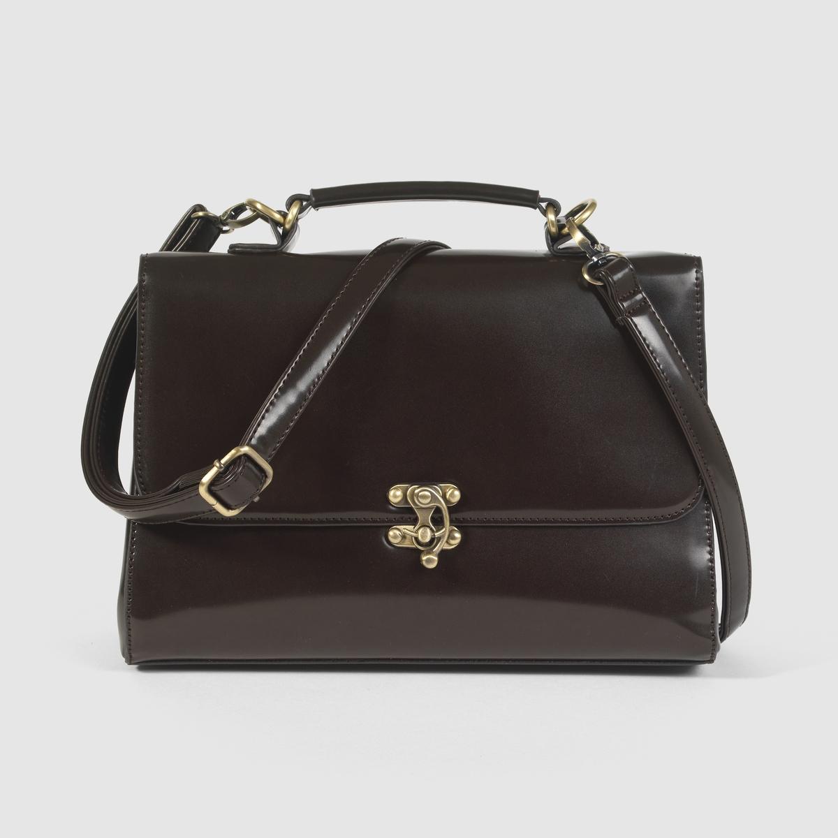 Сумка-портфельПреимущества : элегантный стиль нео-ретро сейчас на пике моды - эта сумка с изящной отделкой станет для Вас незаменимым аксессуаром в новом сезоне.<br><br>Цвет: каштановый