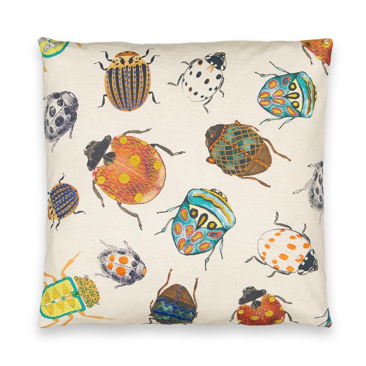 Чехол LaRedoute Из 100 хлопка Coccinya 50 x 50 см разноцветный
