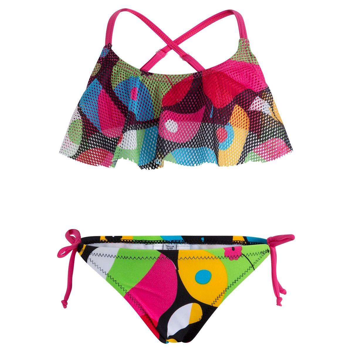 Maillot de bain bikini 2 pièces pop