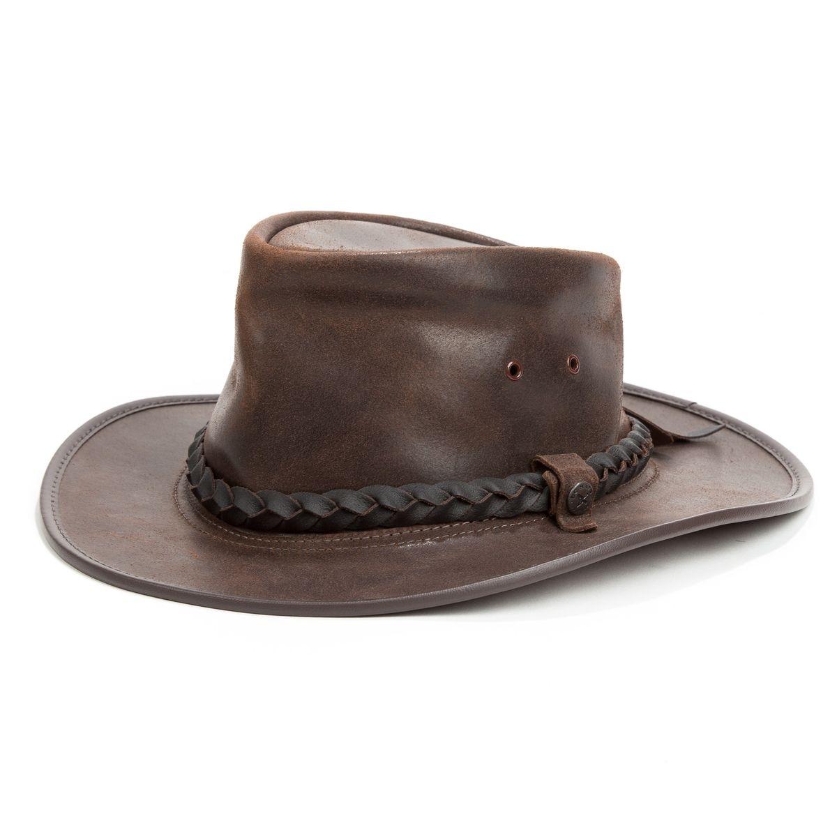 Chapeau cuir australien