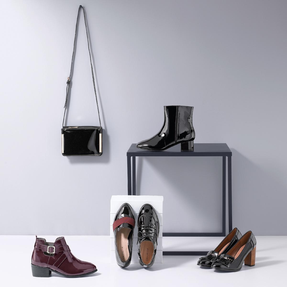 Ботинки-дерби кожаные на широкую ногу, размеры 38-45 ботинки дерби кожаные
