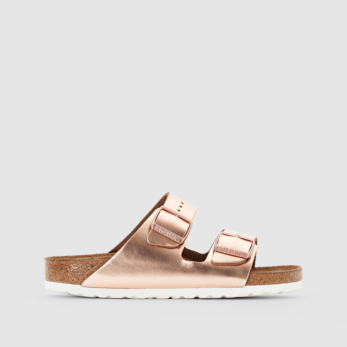 Туфли без задника кожаные ARIZONA SFB