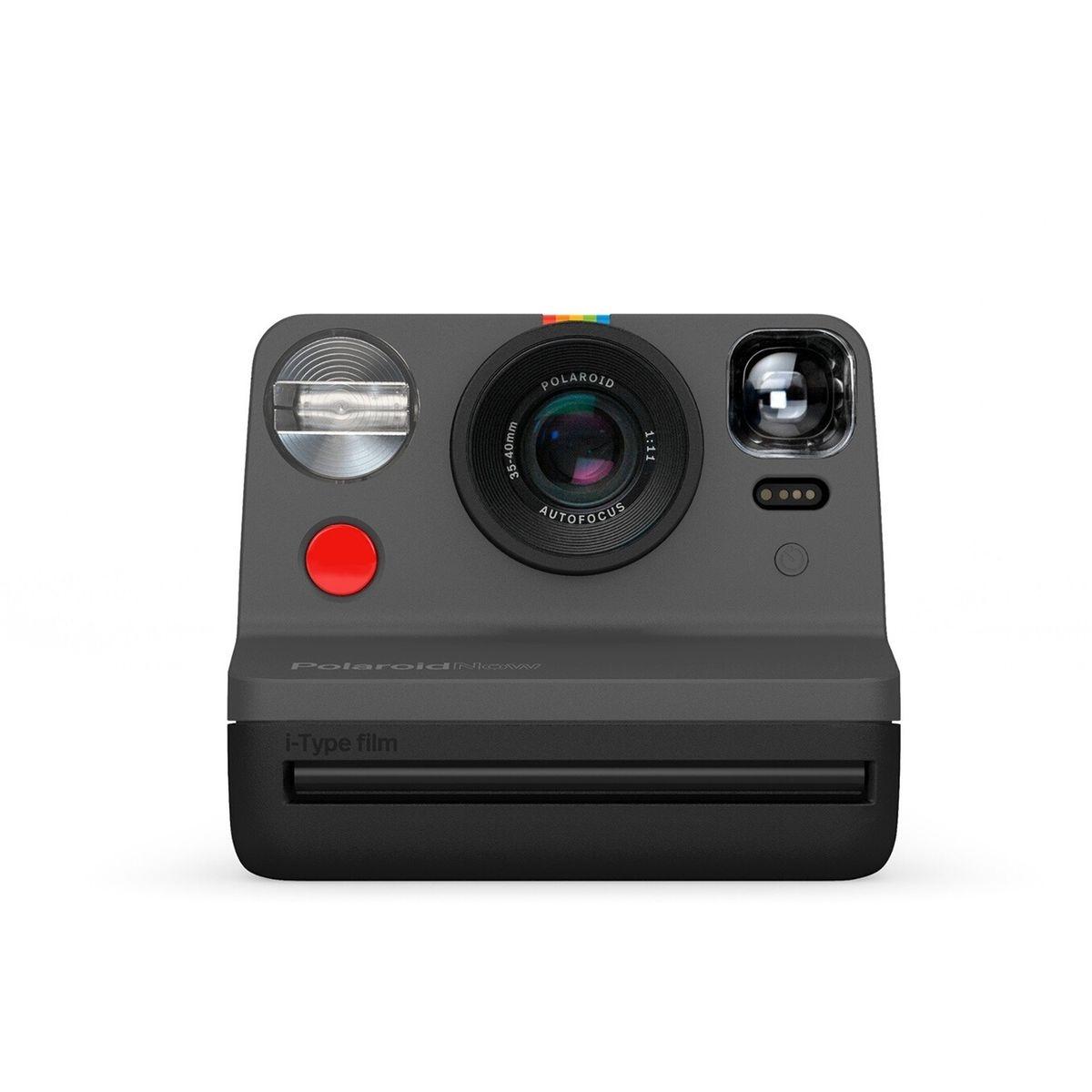 Polaroid Now Appareil Photo instantané i-Type Noir