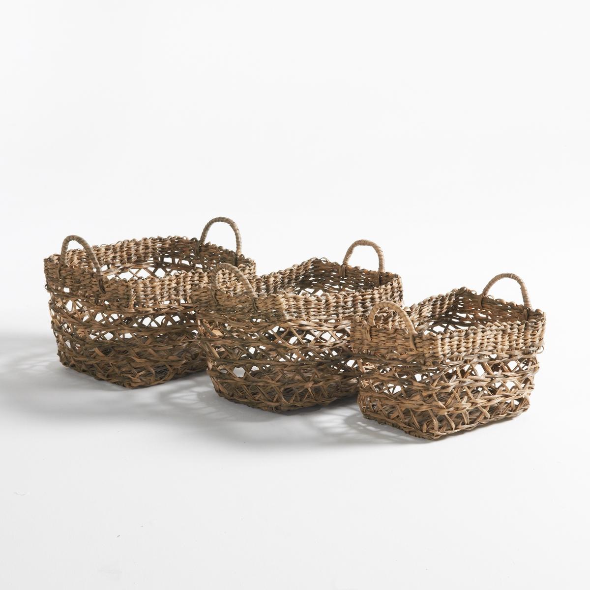 Комплект из 3 декоративных корзин, Rybatt