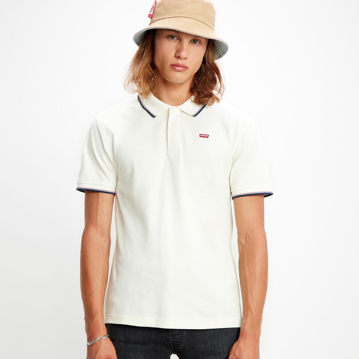 Image of Batwing Cotton Piqué Polo Shirt
