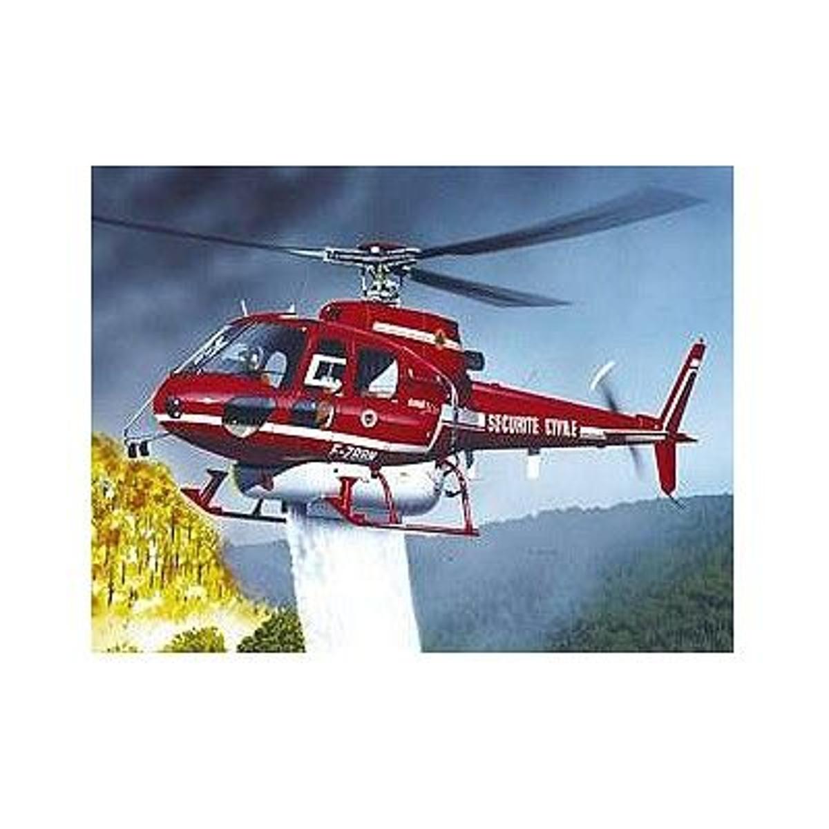 Maquette hélicoptère : Ecureuil Bombardier d'eau