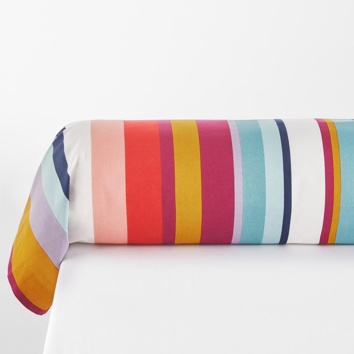 Наволочка на подушку-валик с рисунком, Paraisio