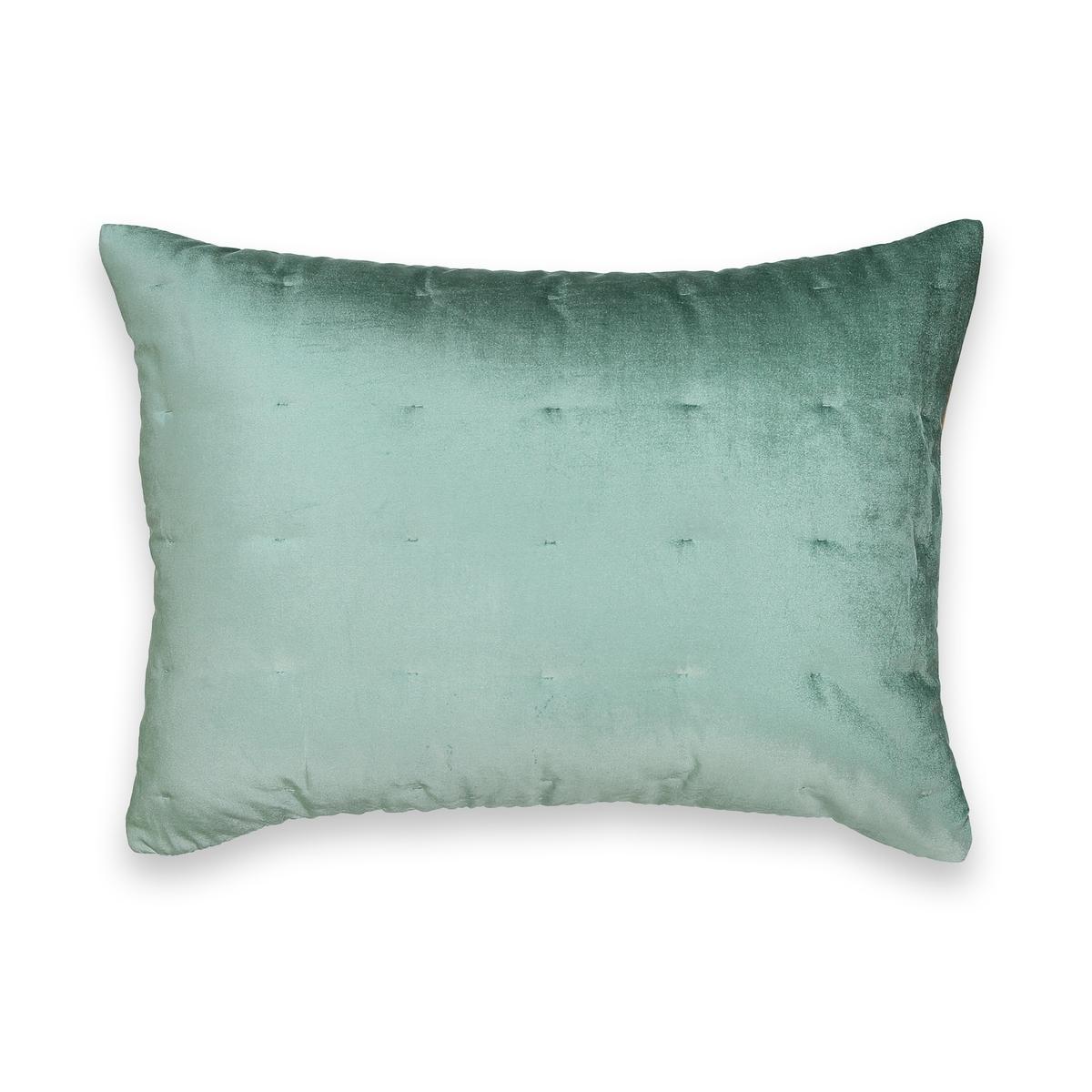 Чехол на подушку из двухцветного велюра DAMYA покрывало стеганое из велюра damya