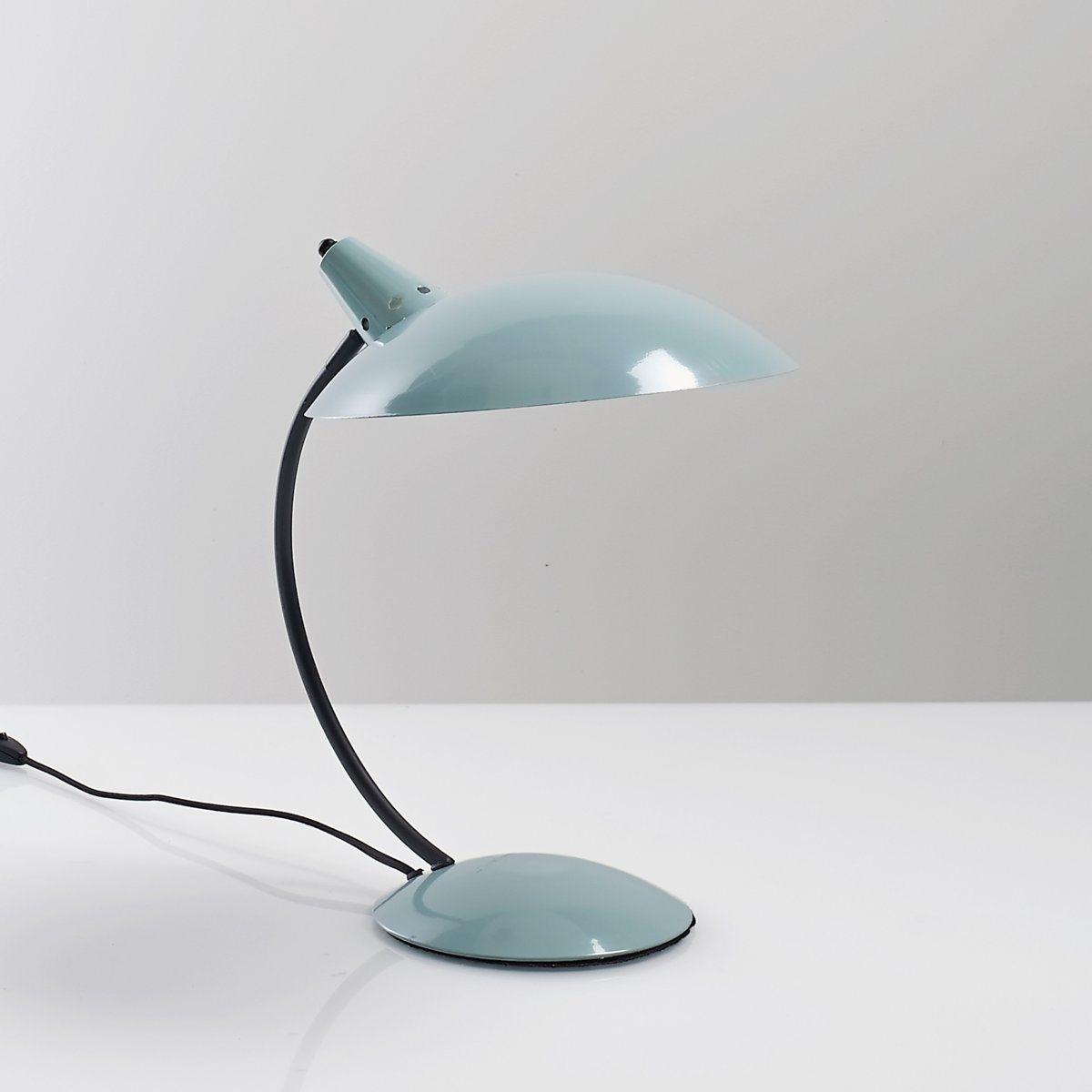 Лампа настольная в винтажном стиле, RosellaЛампа настольная из металла, Rosella .Настольная лампа в винтажном стиле из металла в 2 расцветках : горчичная и черная .Описание лампы, Rosella  :Патрон E14 для флюокомпактной лампочки макс 8W (не входит в комплект)  Этот светильник совместим с лампочками    энергетического класса   : AХарактеристики лампы, Rosella  :Из металла с эпоксидным покрытиемЭлектрический кабель из черного текстиля Всю коллекцию светильников вы можете найти на сайте laredoute.ru. Размеры лампы, Rosella :Ширина : 40 смВысота : 42 смАбажур : диаметр 30 см .<br><br>Цвет: бледно-зеленый