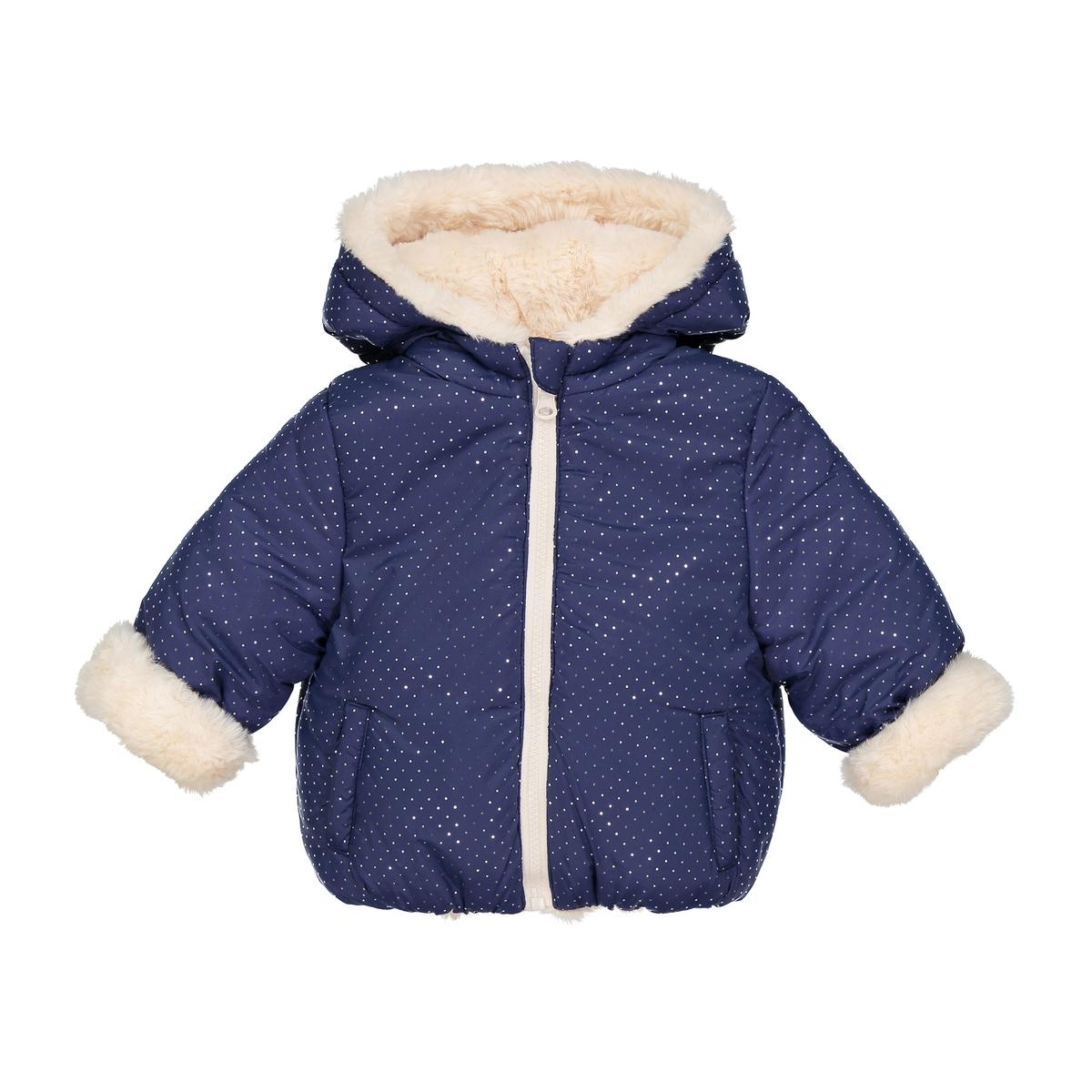 Cappotto double face effetto pelliccia 3 mesi-3 anni
