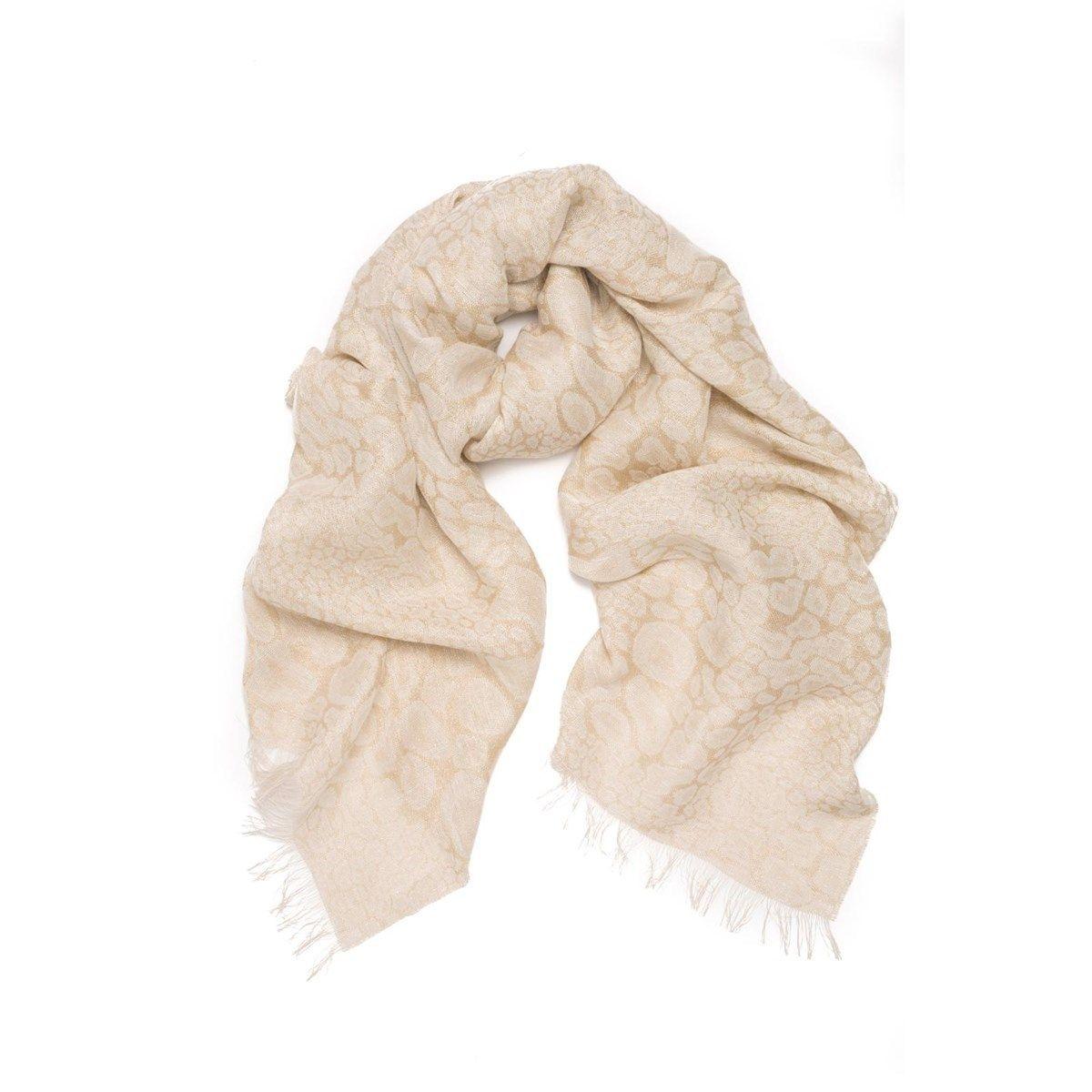 Foulard en lin et Fil textile  Dune