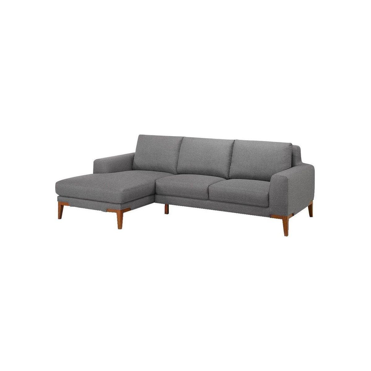 Canapé d'angle gauche SUN SEASON tissu