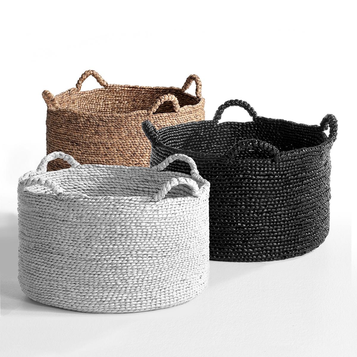 Круглая плетеная корзина В37 см, Raga от La Redoute