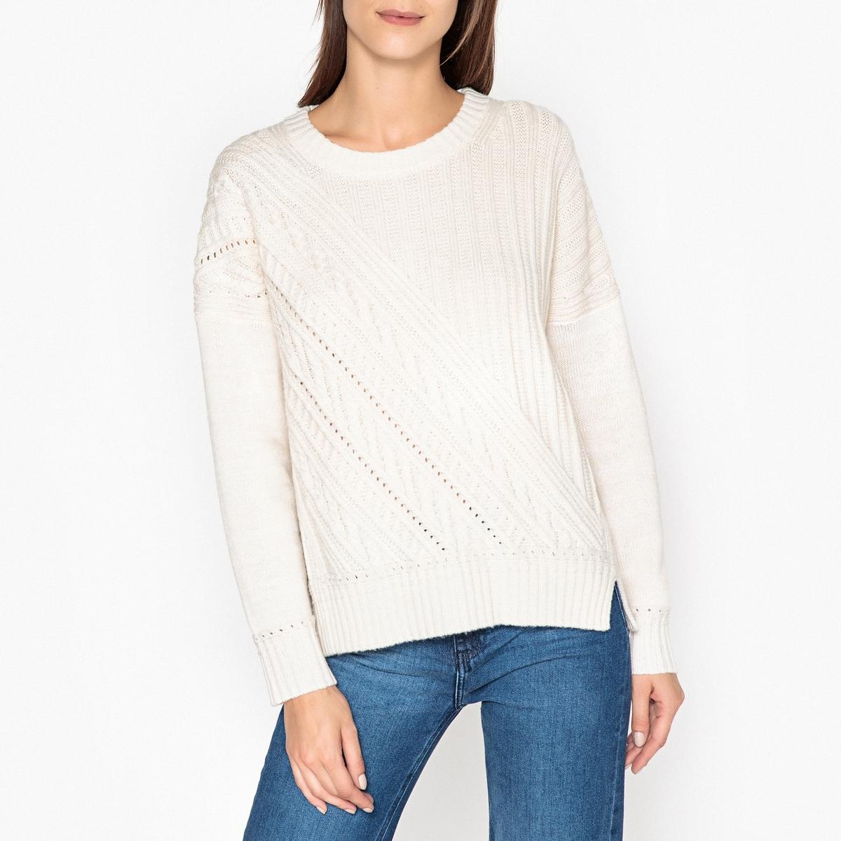 Пуловер в полоску из трикотажа PEDRO