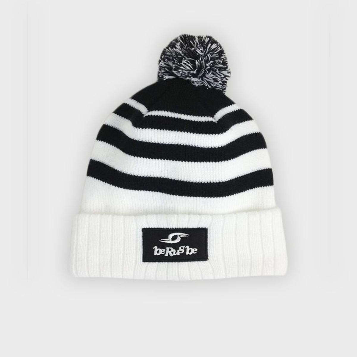 Bonnet Winter - Berugbe - Rayé Noir/Blanc - U
