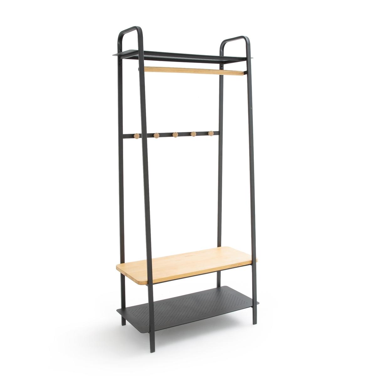 Вешалка La Redoute Для гардероба из дерева и металлаESTIVAR единый размер черный