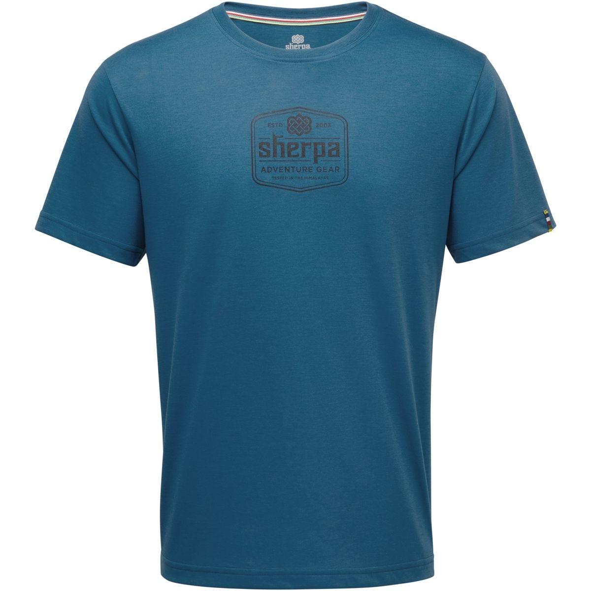 Tashi - T-shirt manches courtes Homme - bleu