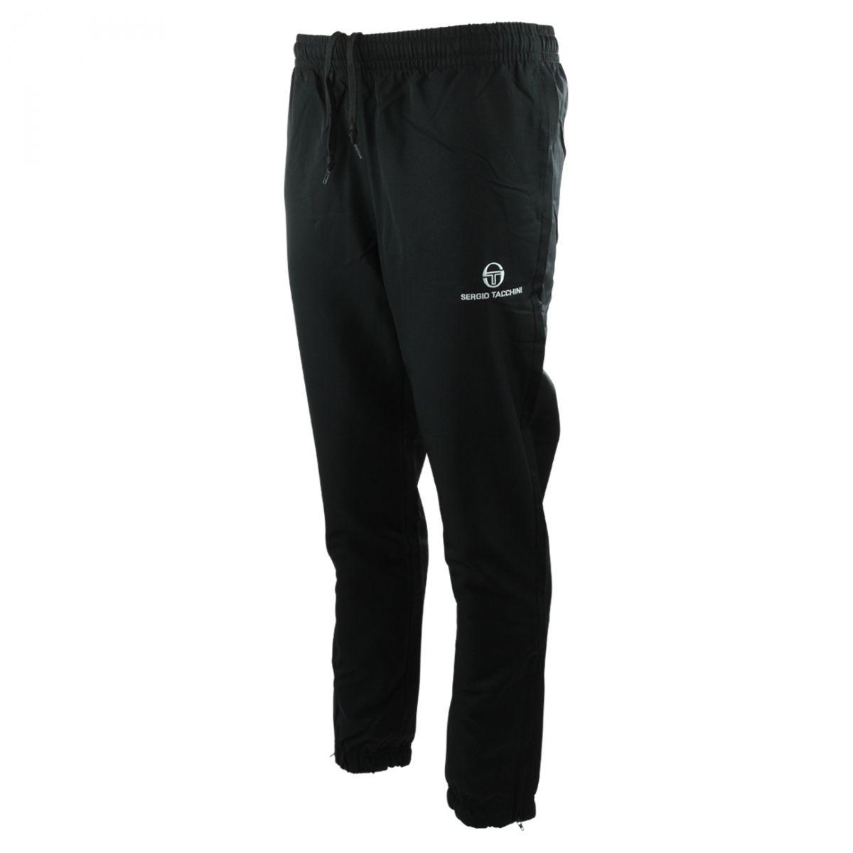 Pantalon Jogging Carson Fit Black/White Jr
