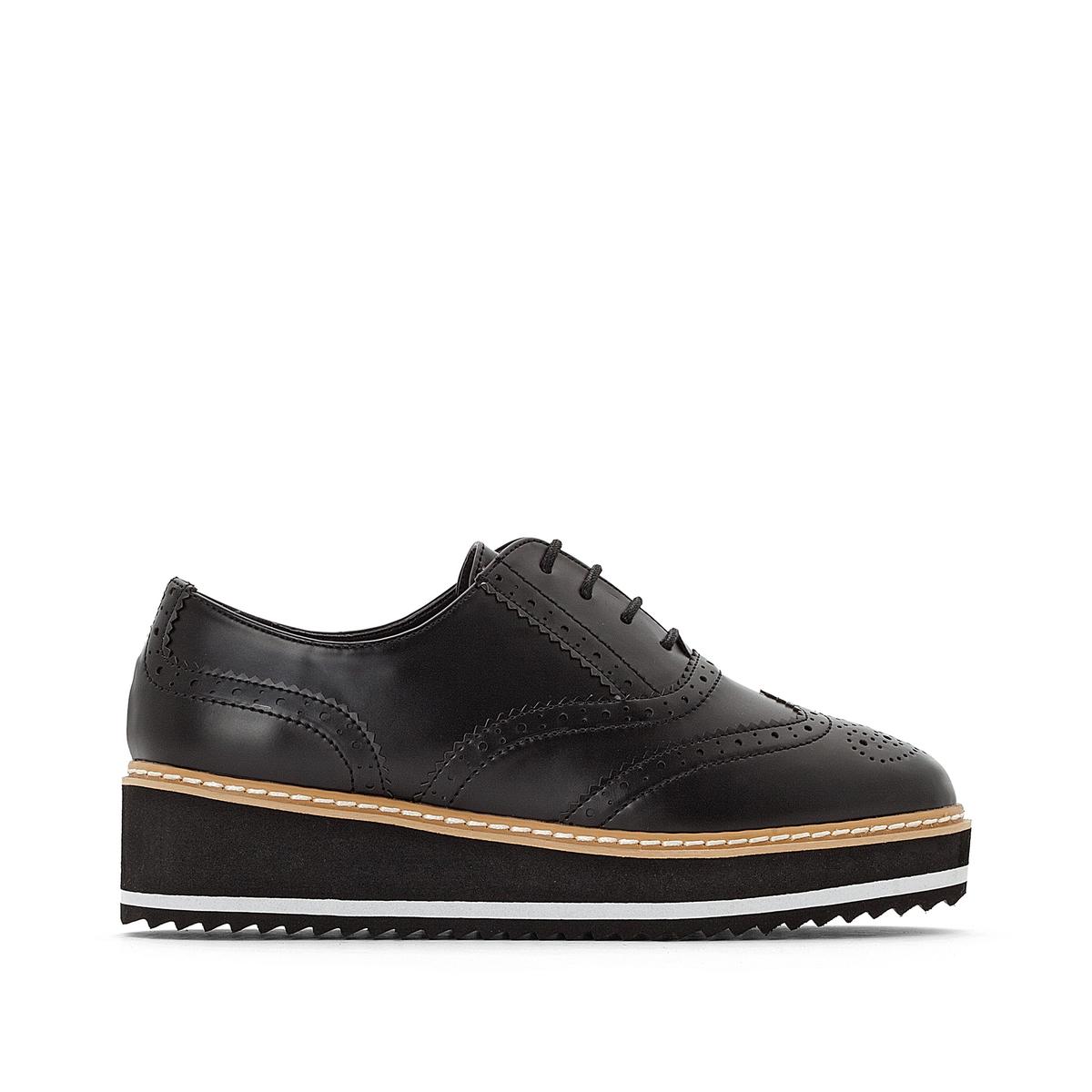 Ботинки-дерби с двухцветной подошвой детские ботинки с нескользящей подошвой bobdog 52071013 1 3