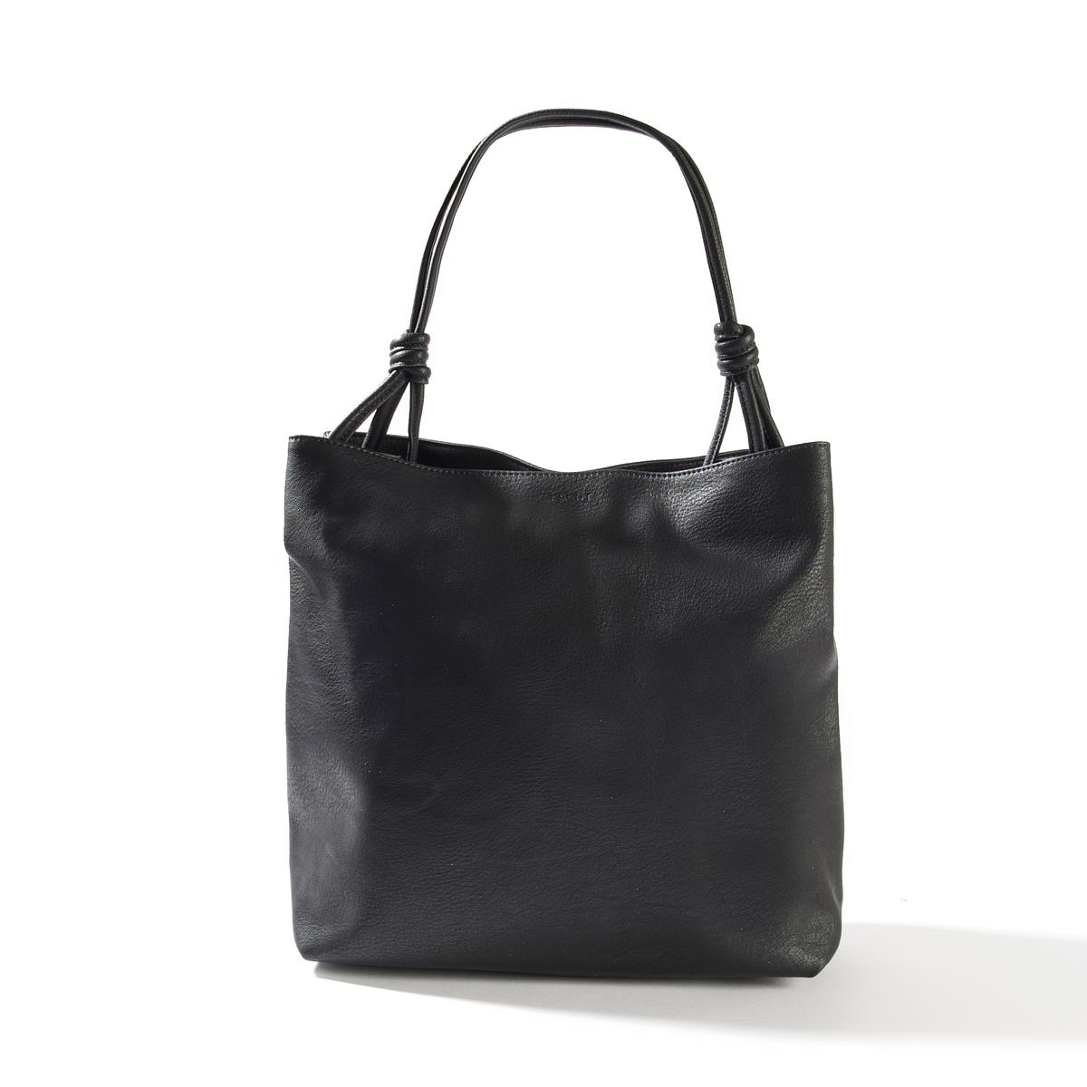 Сумка-шоппер WilmaОписание:Модная сумка Esprit в городском стиле: идеальна для походов в город или на работу: практична - её можно ностиь как в руке, так и на плече. Состав и описание : Материал : верх из полиуретана              подкладка из полиуретанаМарка : EspritМодель : Wilma sac hoboРазмеры : 35 x 31 x 14 смЗастежка : на пуговицуВнутренние карманы<br><br>Цвет: черный