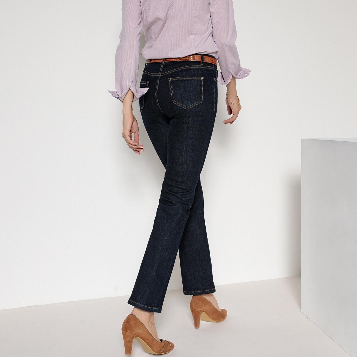 Джинсы расклешенные из денима стретч джинсы расклешенного покроя из денима стретч