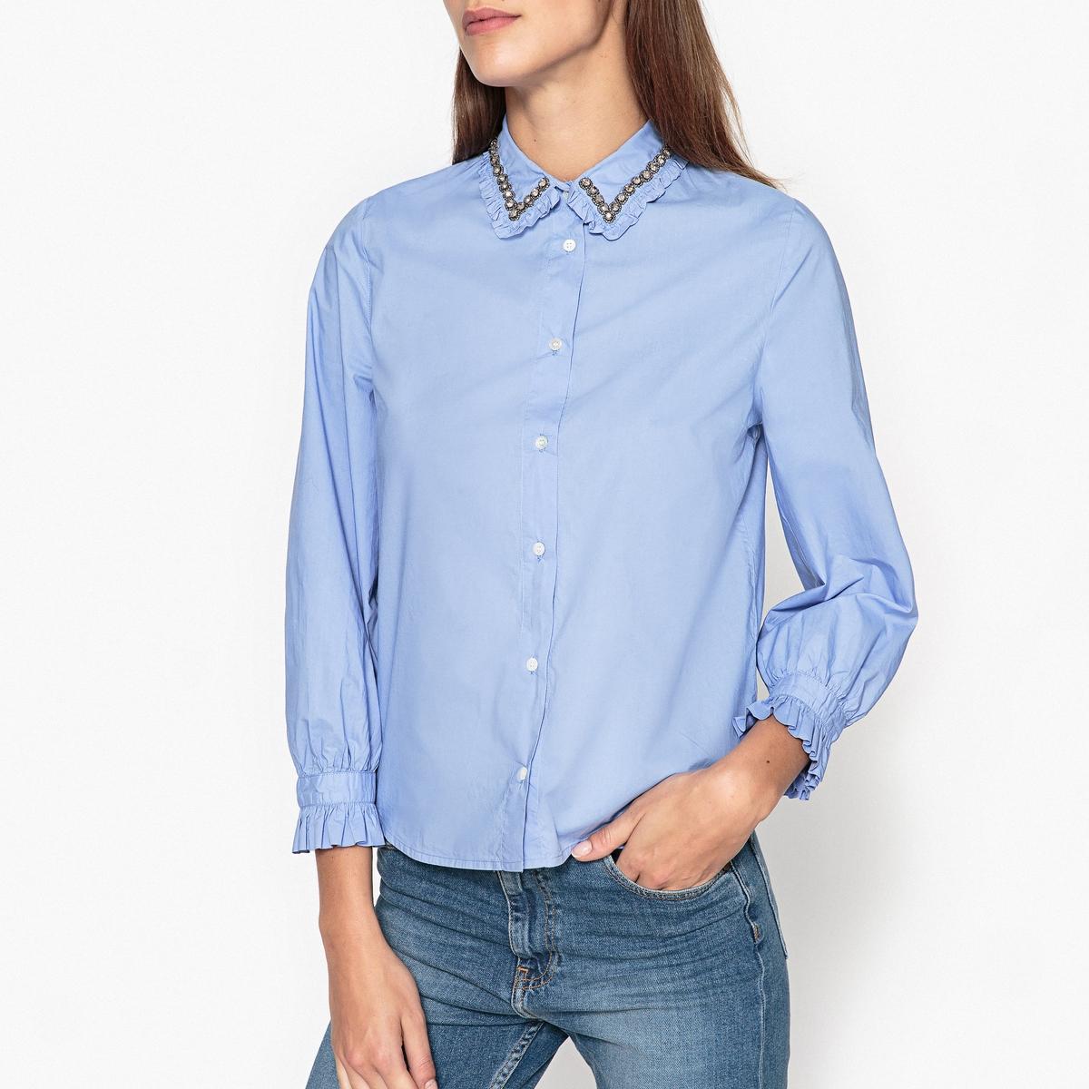 Рубашка с воротником с украшением ODAKOTA5