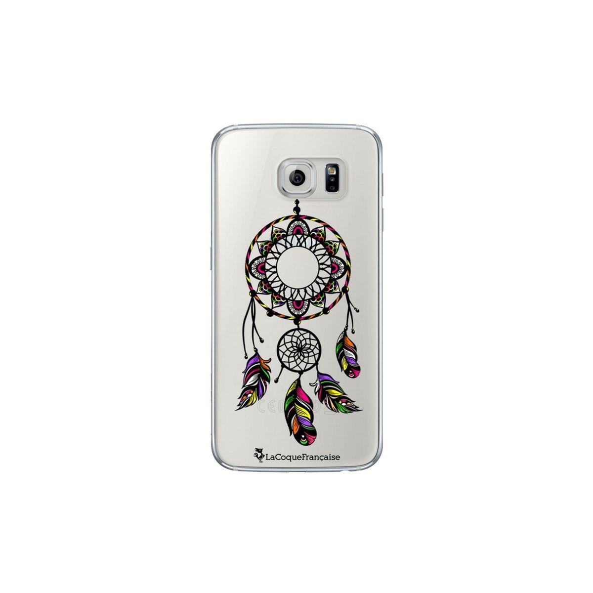 Coque Samsung Galaxy S6 rigide transparente, Rêve Indien, La Coque Francaise®