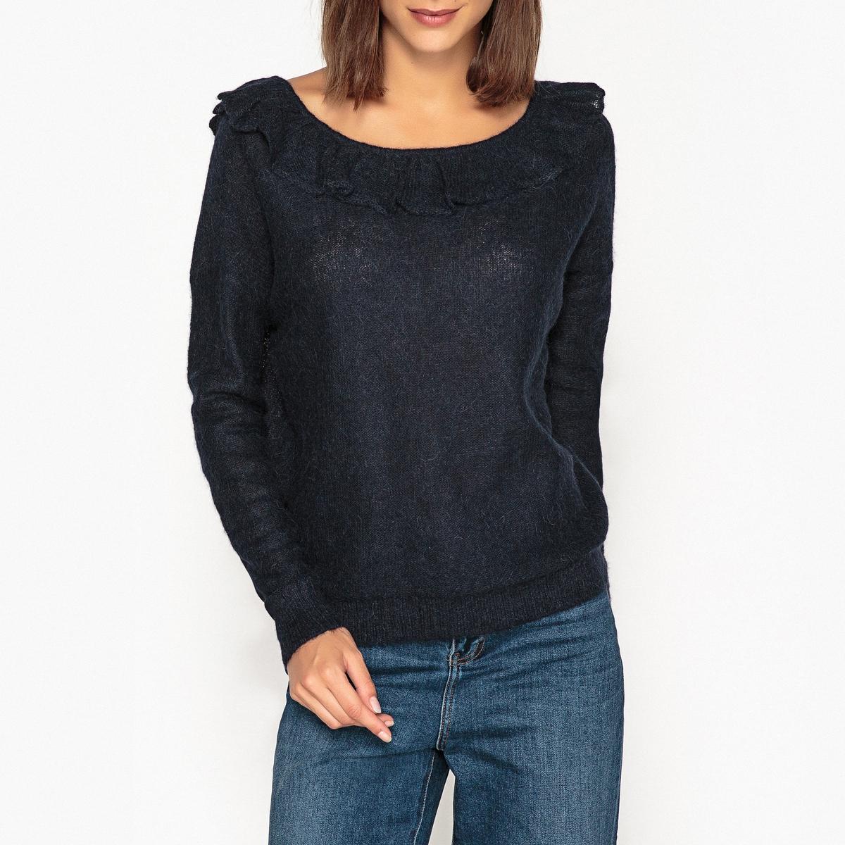 купить Пуловер с V-образным вырезом из тонкого трикотажа LOTERIA по цене 11899 рублей