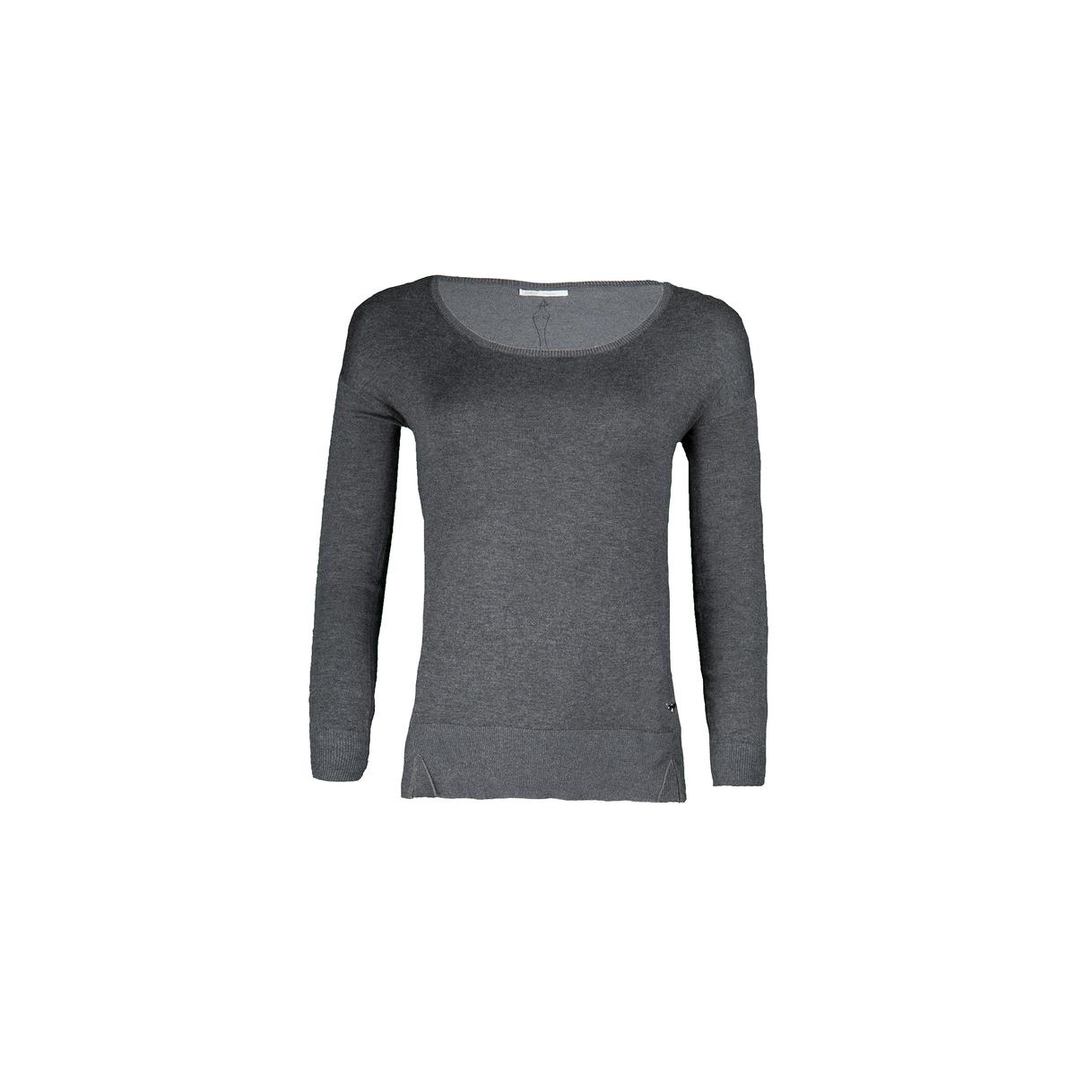 Пуловер с круглым вырезом из тонкого трикотажаДетали •  Длинные рукава •  Круглый вырез •  Тонкий трикотаж Состав и уход •  78% вискозы, 3% эластана, 19% полиамида •  Следуйте советам по уходу, указанным на этикетке<br><br>Цвет: антрацит,хаки