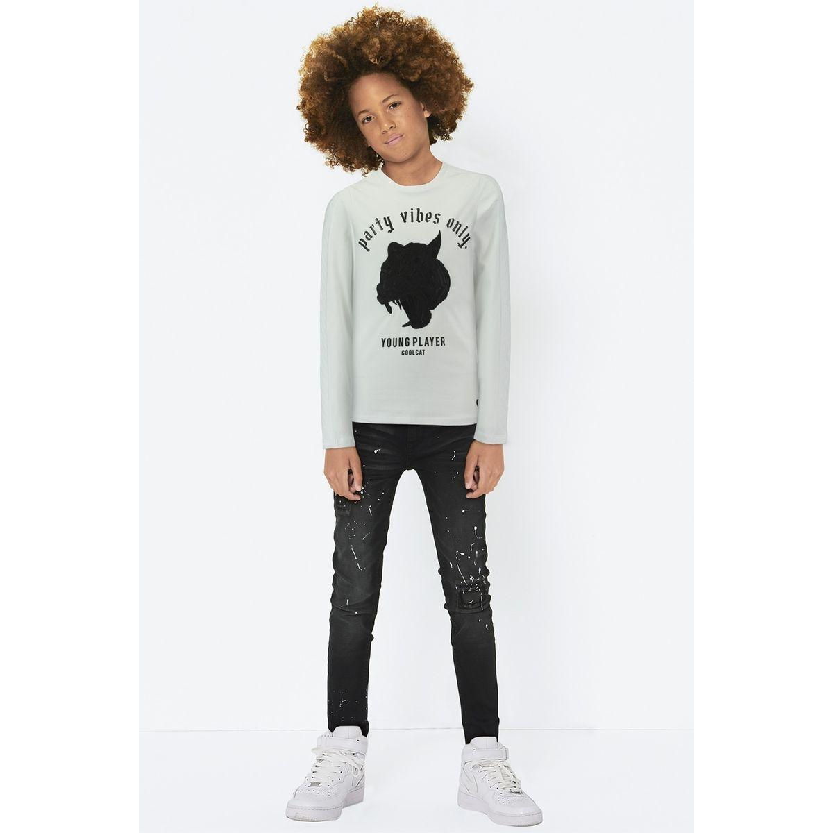 T-shirt à Manches Longues Etigerls