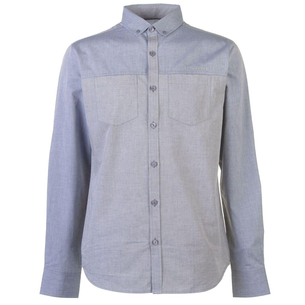 Chemise décontractée 2 poches poitrine