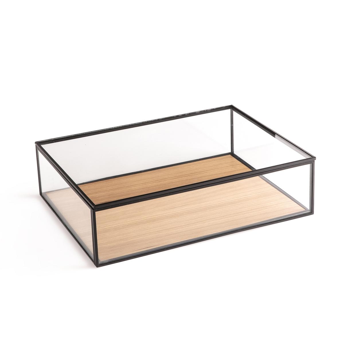 Коробка-витрина La Redoute Большая модель Hatake единый размер бежевый наволочка la redoute flooch 50 x 30 см бежевый